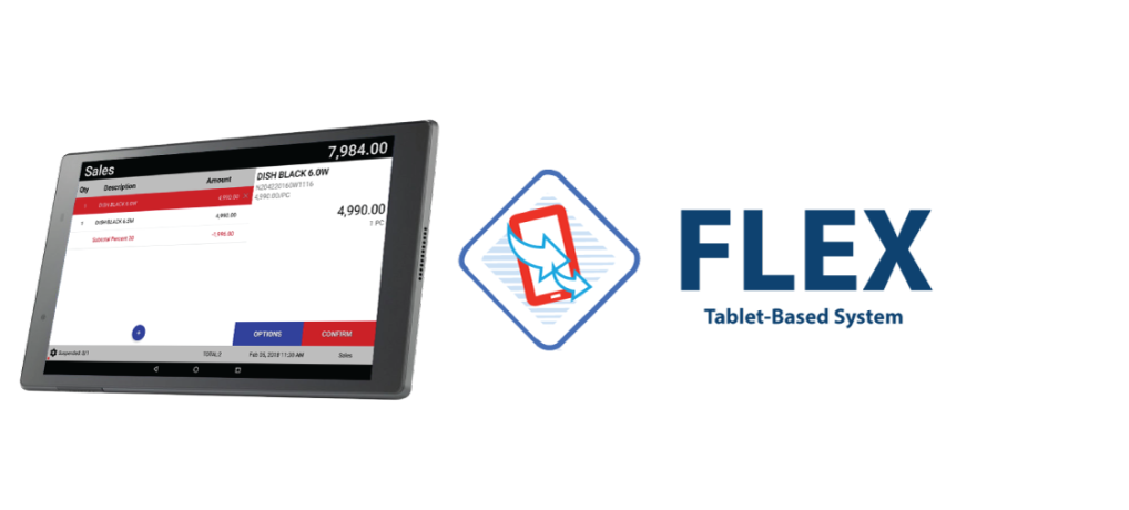 Flex Tablet-Based Solution