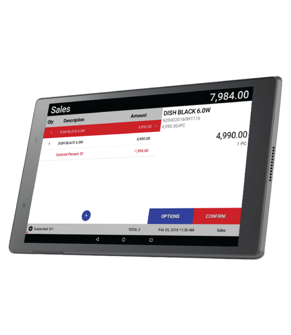 FLEX Tablet Retail Fastfood POS